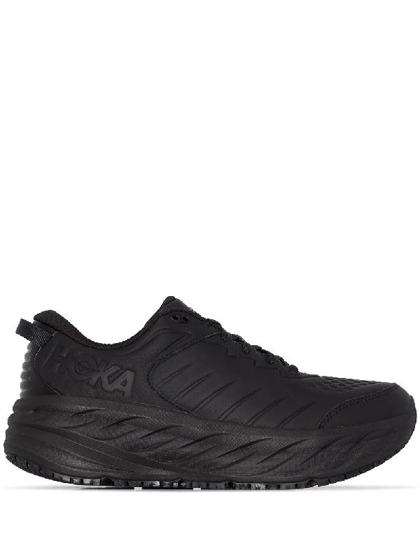 Hoka One One Black Bondi Sr Sneakers