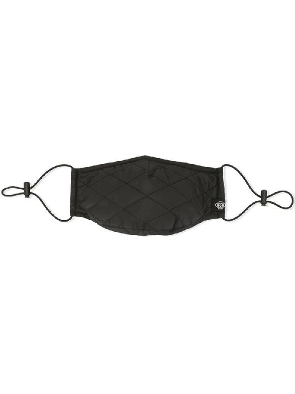 Mostly Heard Rarely Seen Quilted Face Mask In Black