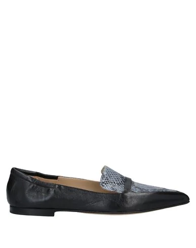 Pomme D'or Loafers In Sky Blue