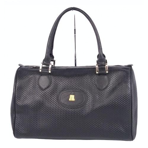 Lanvin Black Leather Handbag