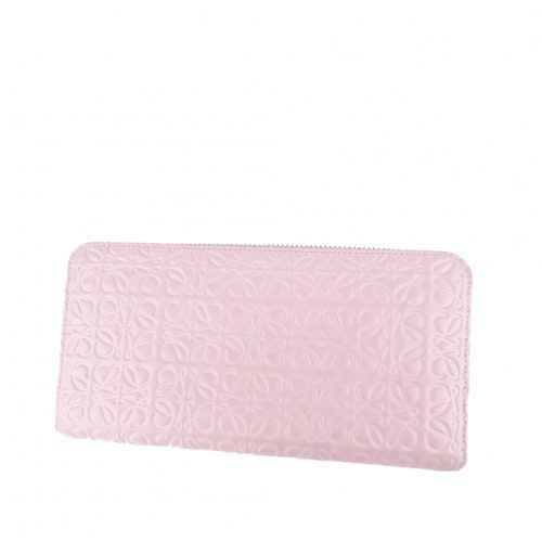 Loewe Pink Leather Wallet