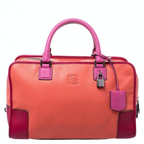 Loewe Amazona Multicolour Leather Handbag