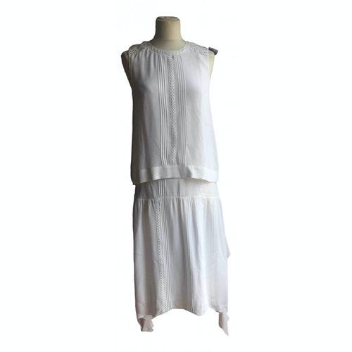Belstaff White Silk Dress