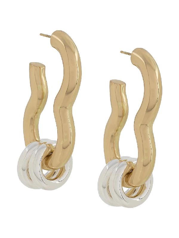Ellery Large Hoops Earring In Gold