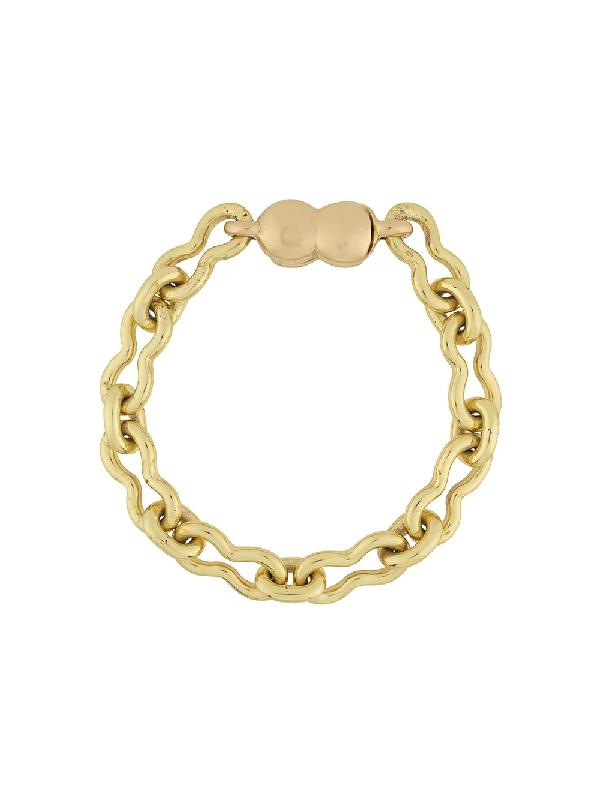 Ellery Small Chain-link Bracelet In Gold