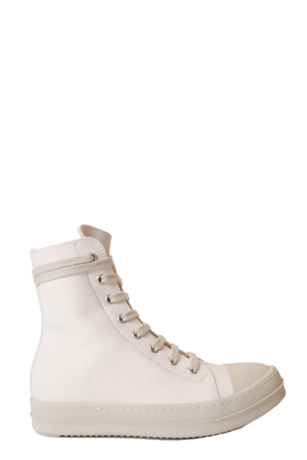 Drkshdw Lace-up Sneakers In Bianco/bianco