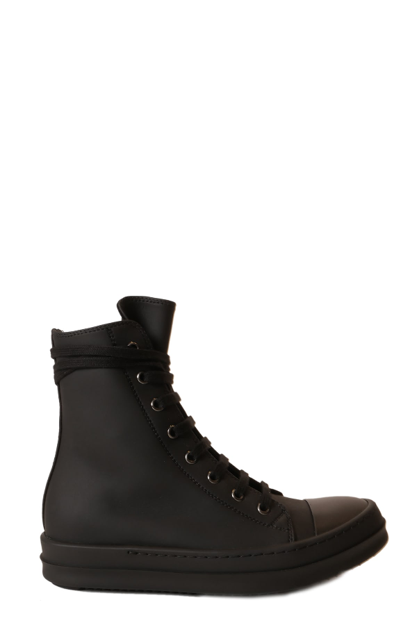 Drkshdw Lace-up Sneakers In Nero/nero