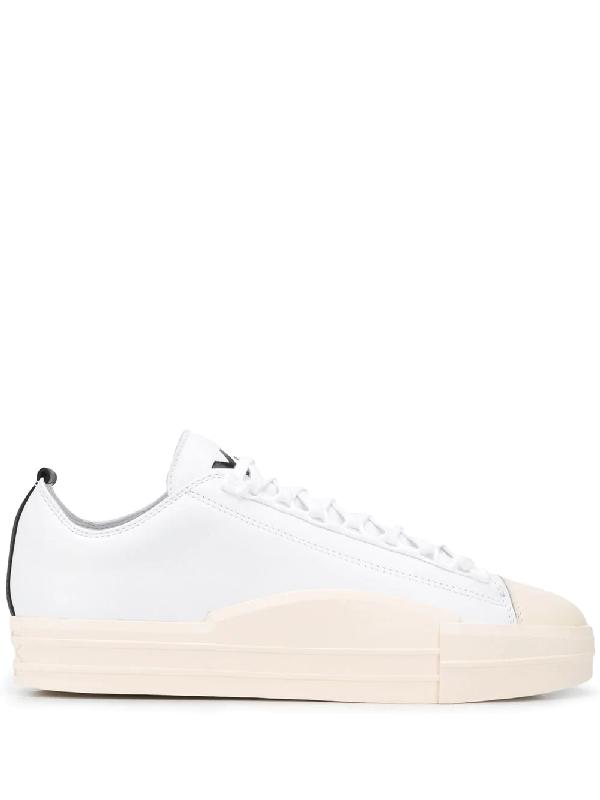 Y-3 Yuben Low-top Sneakers In White