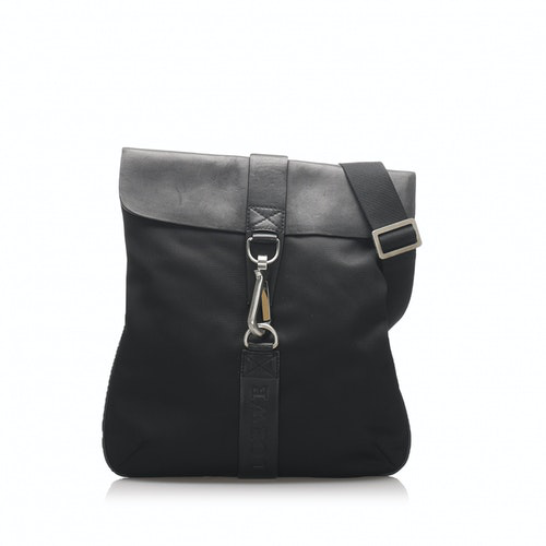 Loewe Black Cloth Handbag
