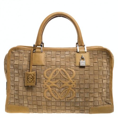 Loewe Amazona Brown Leather Handbag