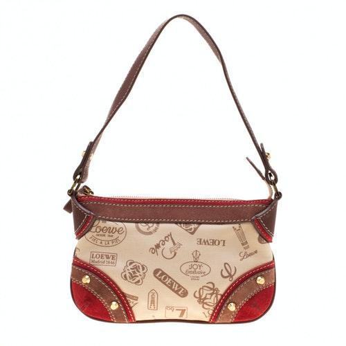 Loewe Beige Wool Handbag