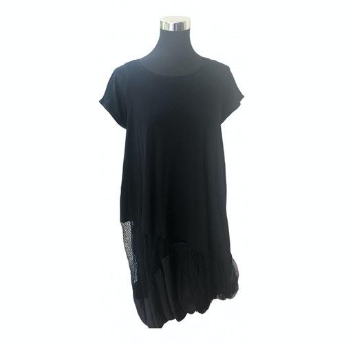 Wunderkind Black Silk Dress
