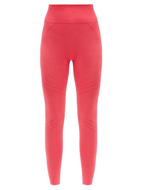 Prism² Lucid High-rise Stretch-jersey Leggings In Dark Pink