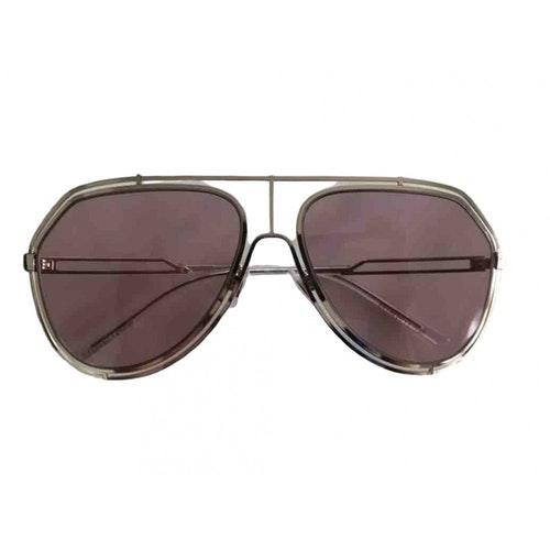 Dolce & Gabbana Silver Metal Sunglasses