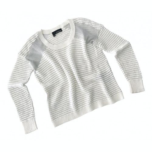 The Kooples White Cotton Knitwear