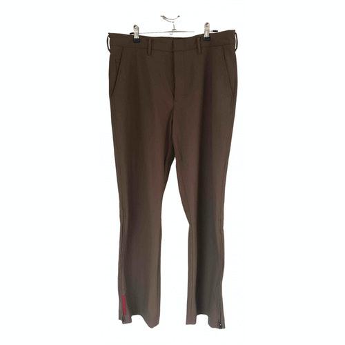 Prada Camel Trousers
