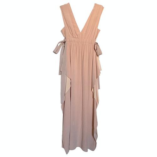 Fendi Pink Silk Dress