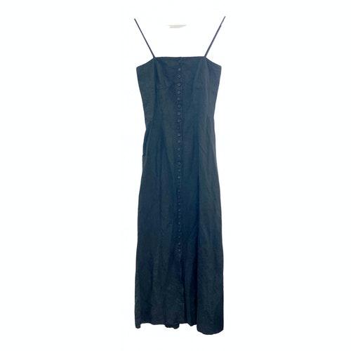 Dries Van Noten Black Cotton Dress