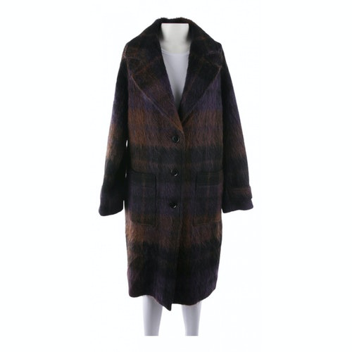 Lala Berlin Brown Wool Jacket