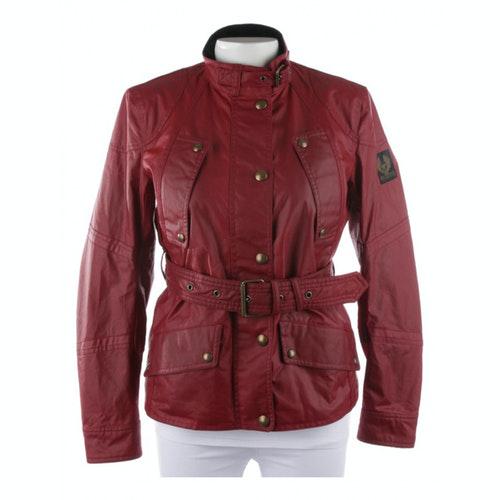 Belstaff Red Cotton Jacket