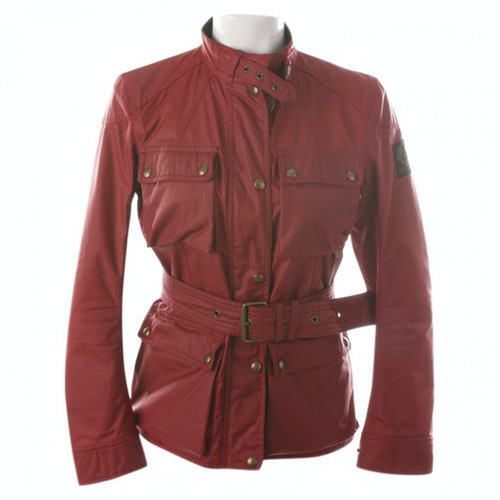 Belstaff Red Cotton Jacket
