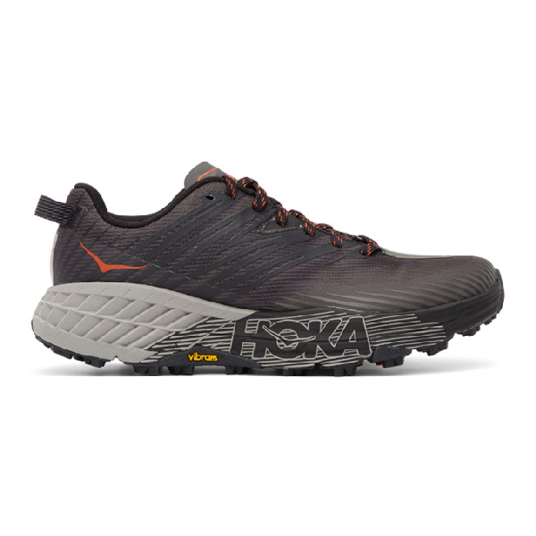 Hoka One One Speedgoat 4 Mesh Running Trainers In Dark Grey