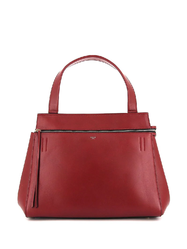 Celine Pre-owned Edge Tote Bag In Red