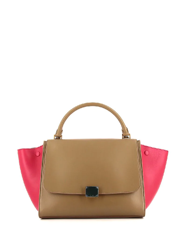 Celine Pre-owned Trapeze Tote Bag In Neutrals
