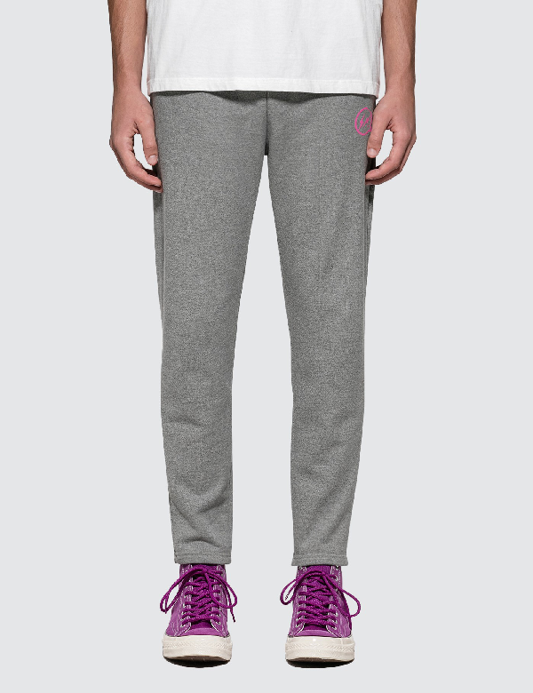 Vanquish Icon Heavy Weight Sweatpants In Charcoal Gray