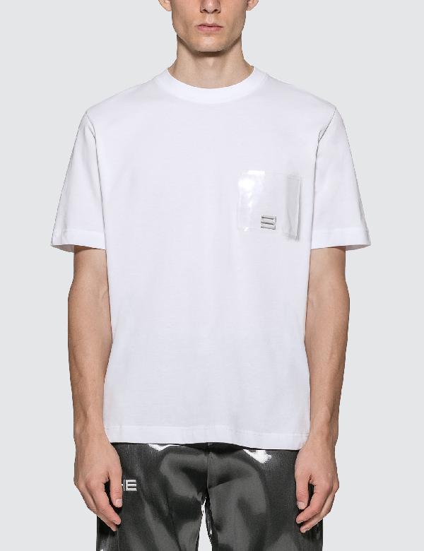 Heliot Emil Pvc Pocket T-shirt In White