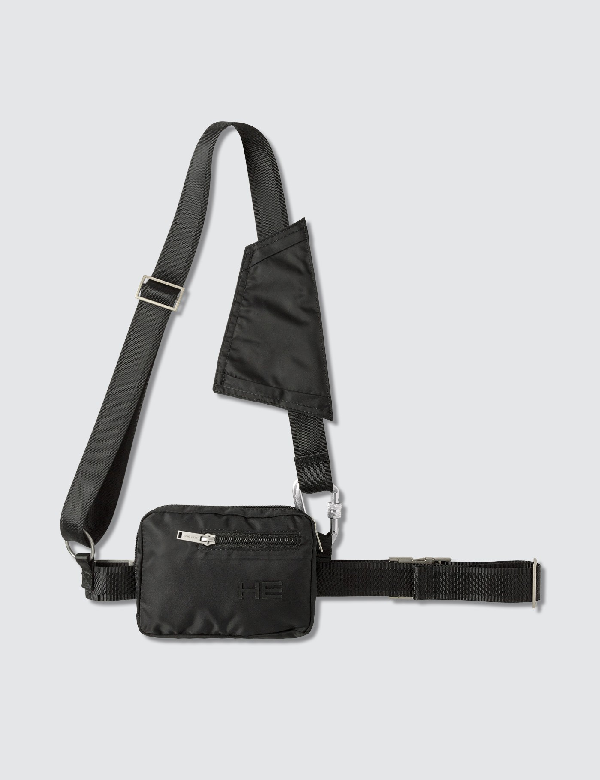 Heliot Emil Crossbody Bag In Black