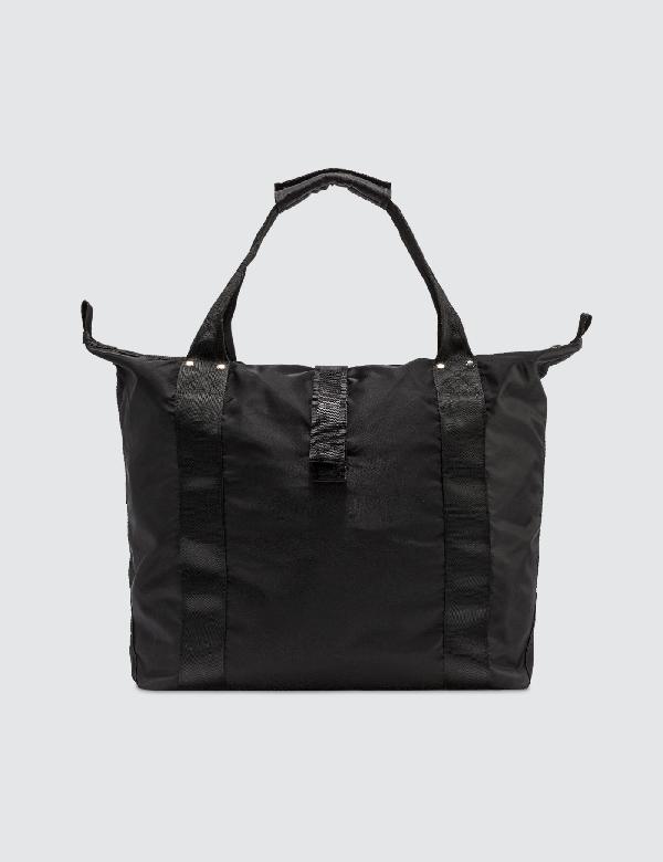 Heliot Emil Zipper Tote Bag In Black