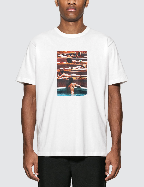 "Rowing Blazers Slim Aarons ""eye Of The Beholder"" (1974) T-shirt In White"