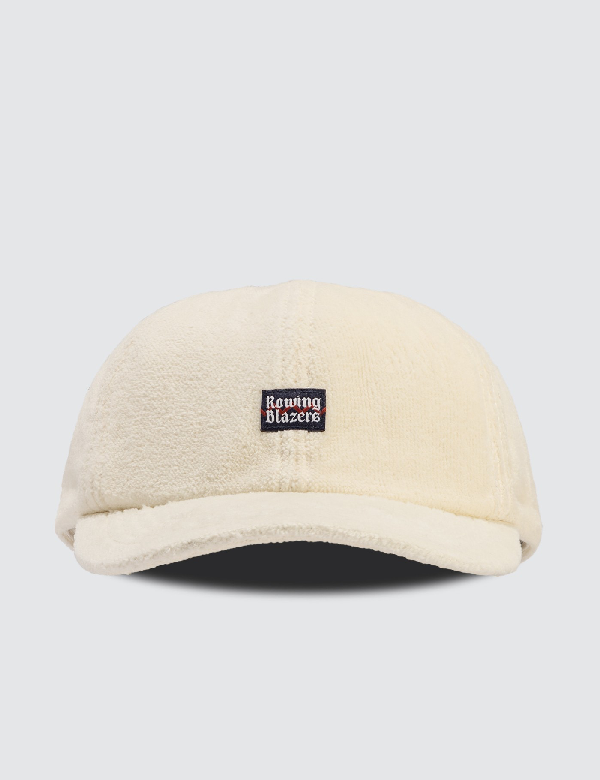 Rowing Blazers Terry Toweling Cap In White