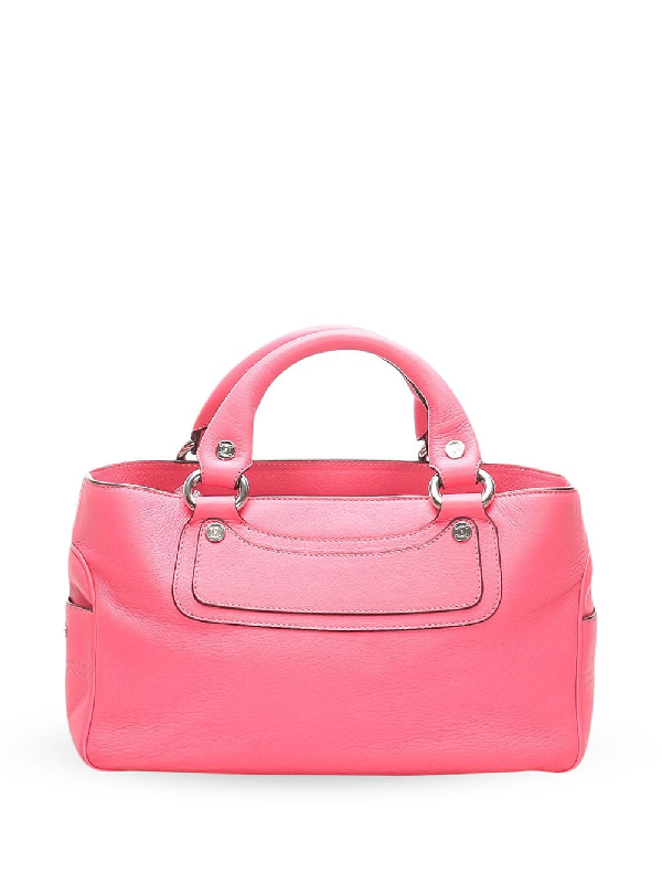 Celine 2018 Pre-owned Panelled Tote In Pink