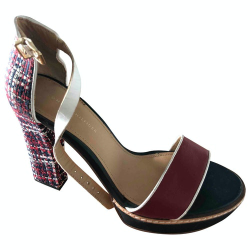 Tommy Hilfiger Multicolour Leather Heels