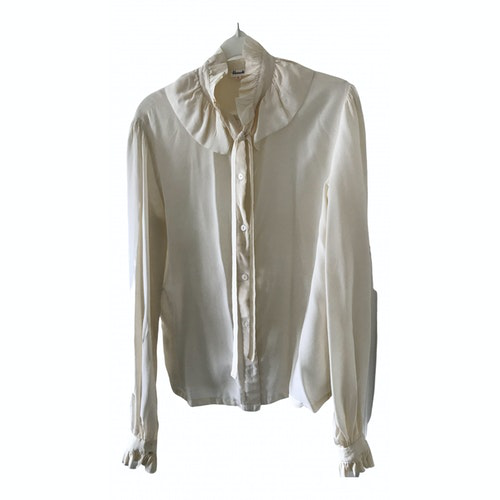 Harrods Ecru Silk  Top