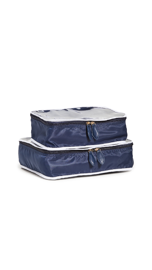 Paravel Shoe Cube Set In Scuba Navy