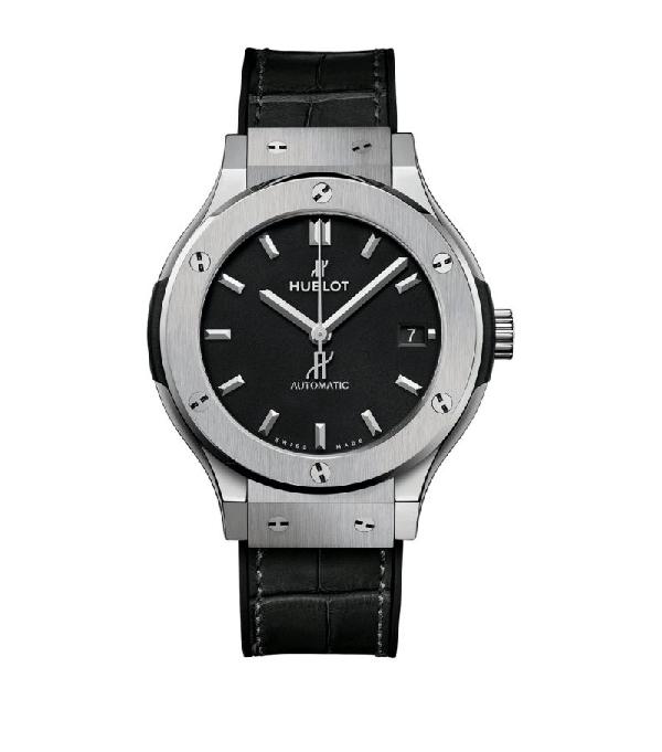 Hublot Titanium Classic Fusion Watch 45mm