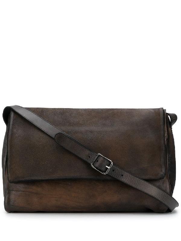 Numero 10 Foldover Shoulder Bag In Brown