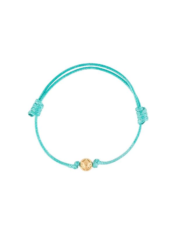 Nialaya Jewelry Woven Bracelet In Green