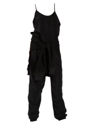 N:philanthropy Christopher Jumpsuit In Black