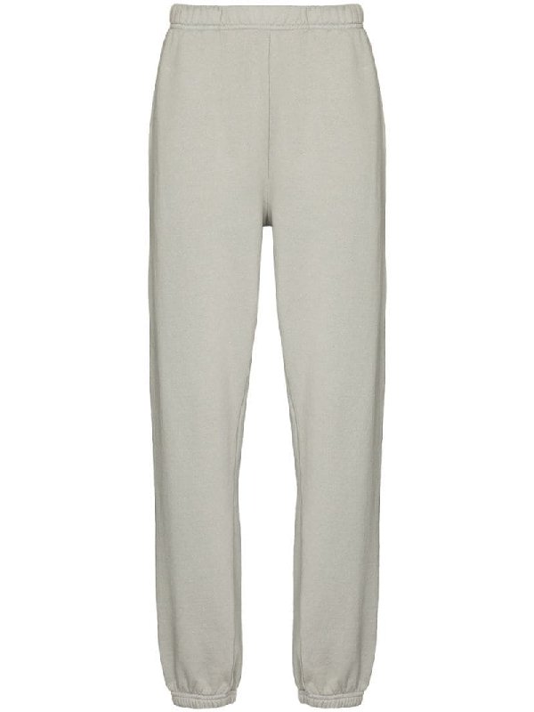 Les Tien Elasticated Waistband Trackpants In Grey