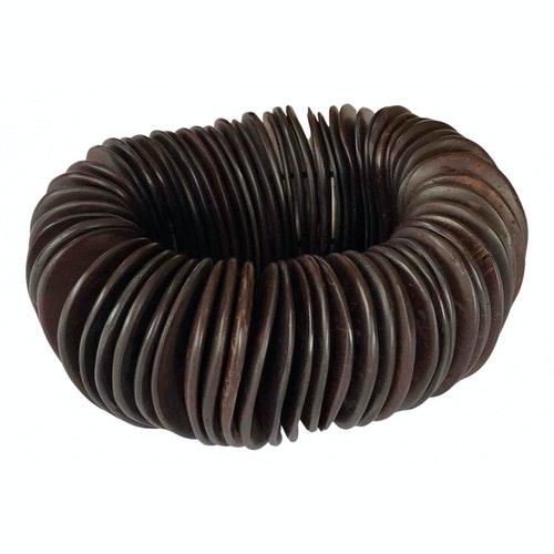 Monies Brown Wood Bracelet