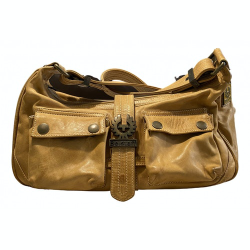 Belstaff Beige Leather Handbag