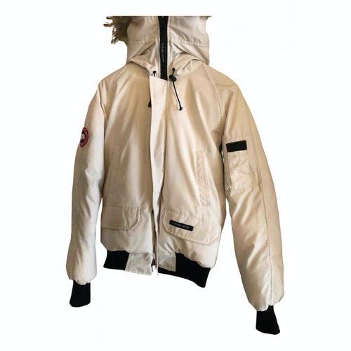 Canada Goose Chilliwack White Cotton Jacket