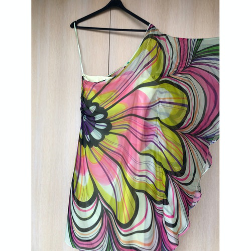 Milly Multicolour Silk Dress