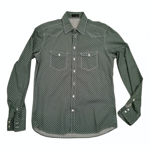 Tonello Green Cotton Shirts