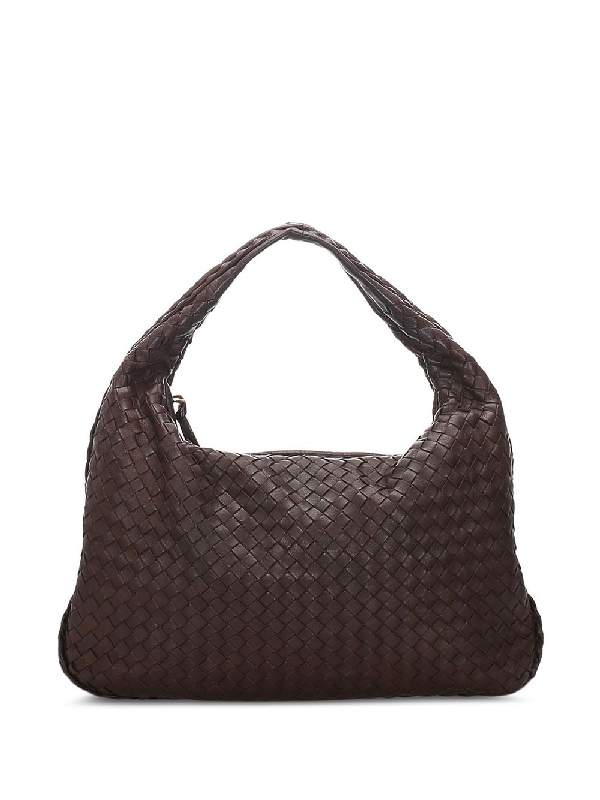 Bottega Veneta Intrecciato Weave Tote Bag In Brown