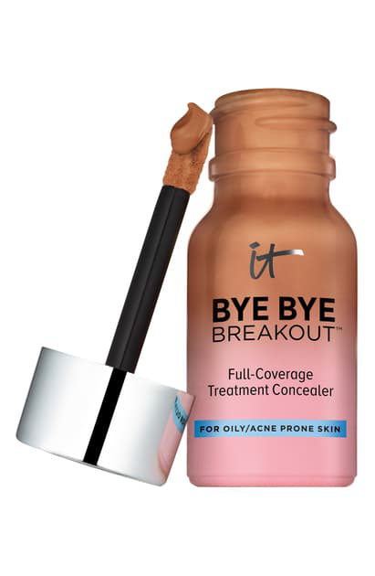 It Cosmetics Bye Bye Breakout Full-coverage Concealer In Deep